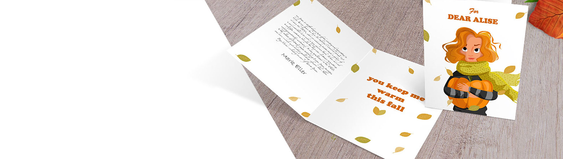 Custom printed greeting cards perfect for any occasion