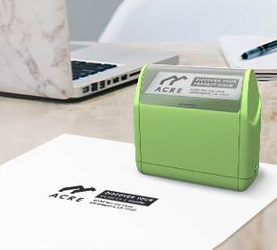 About personalized custom pre-inked stamps