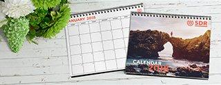 Custom Full Color Calendars Printing