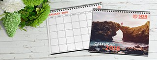 Custom Full Color Calendars Printing